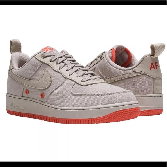 quality design c5049 fd5d1 Men s Nike Air Force 1  07 Canvas